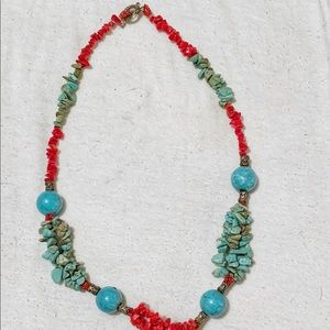 Jewelry - Authentic torquiose stone necklace